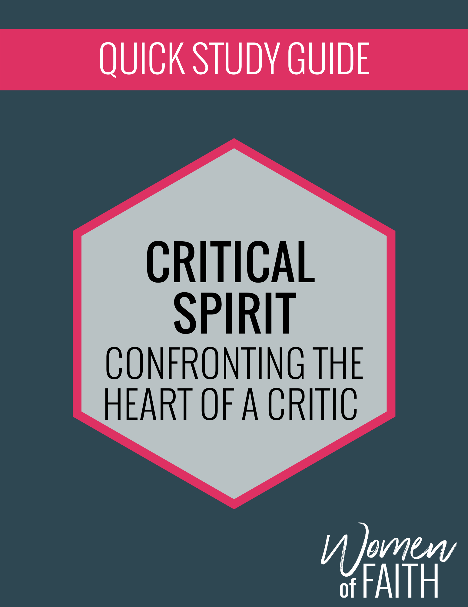 CRITICAL SPIRIT Quick Study Guide (E-GUIDE)