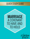 MARRIAGE Quick Study Guide  (E-GUIDE)