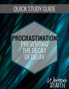 PROCRASTINATION - QUICK STUDY GUIDE
