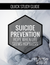 SUICIDE PREVENTION - QUICK STUDY GUIDE