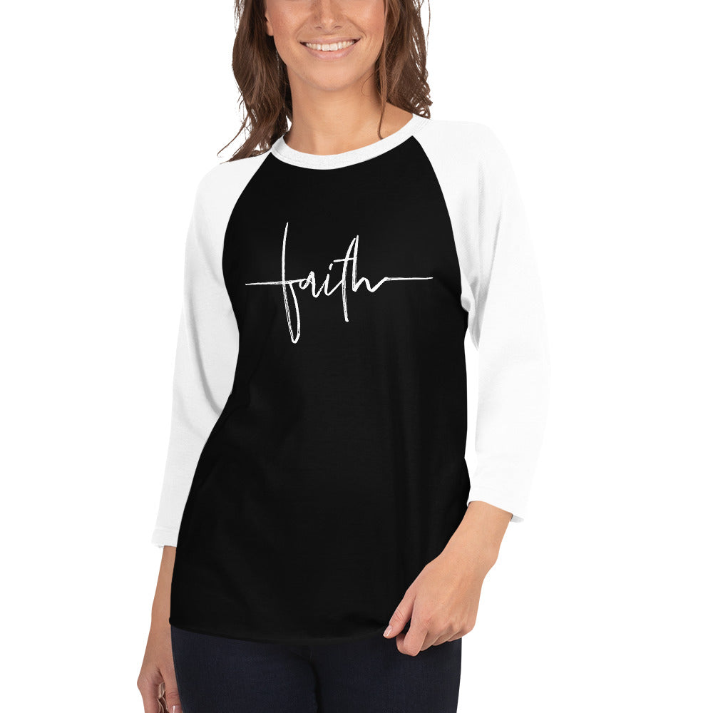 FAITH - 3/4 Sleeve Raglan Shirt