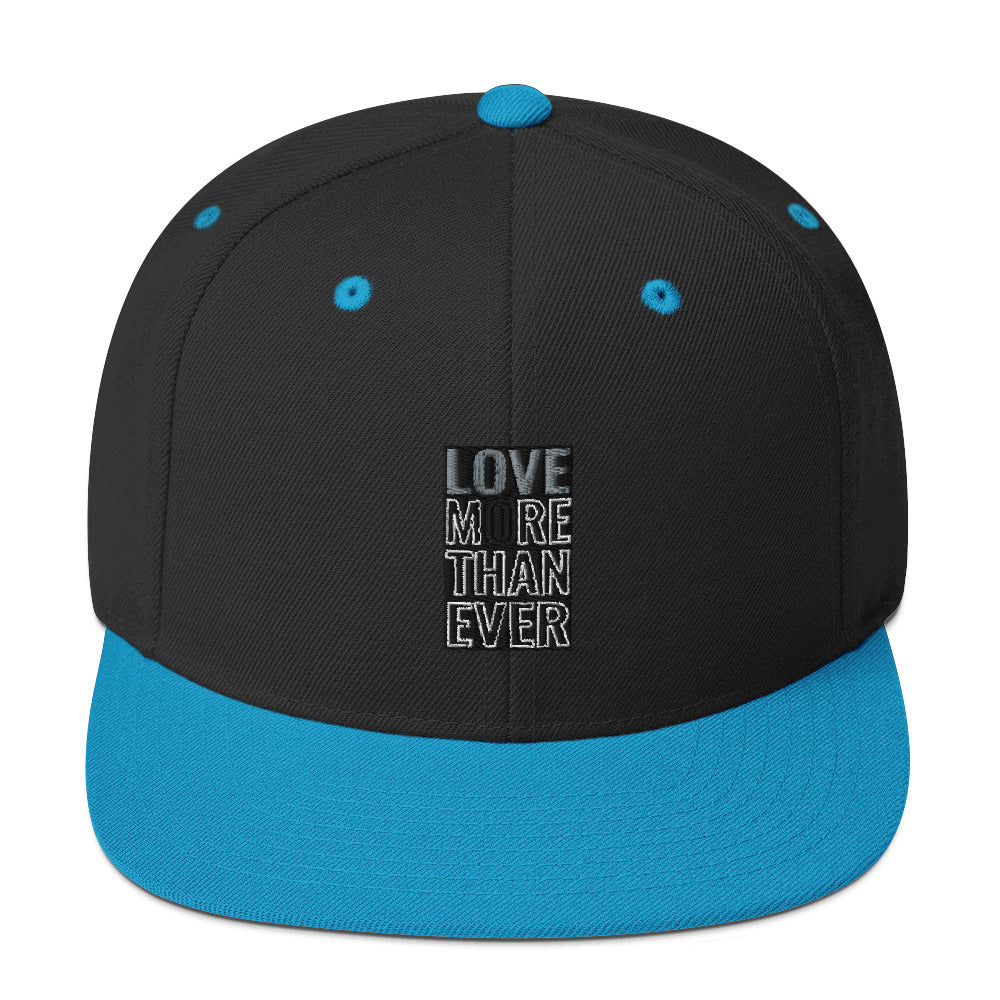 LOVE MORE THAN EVER Snapback Hat