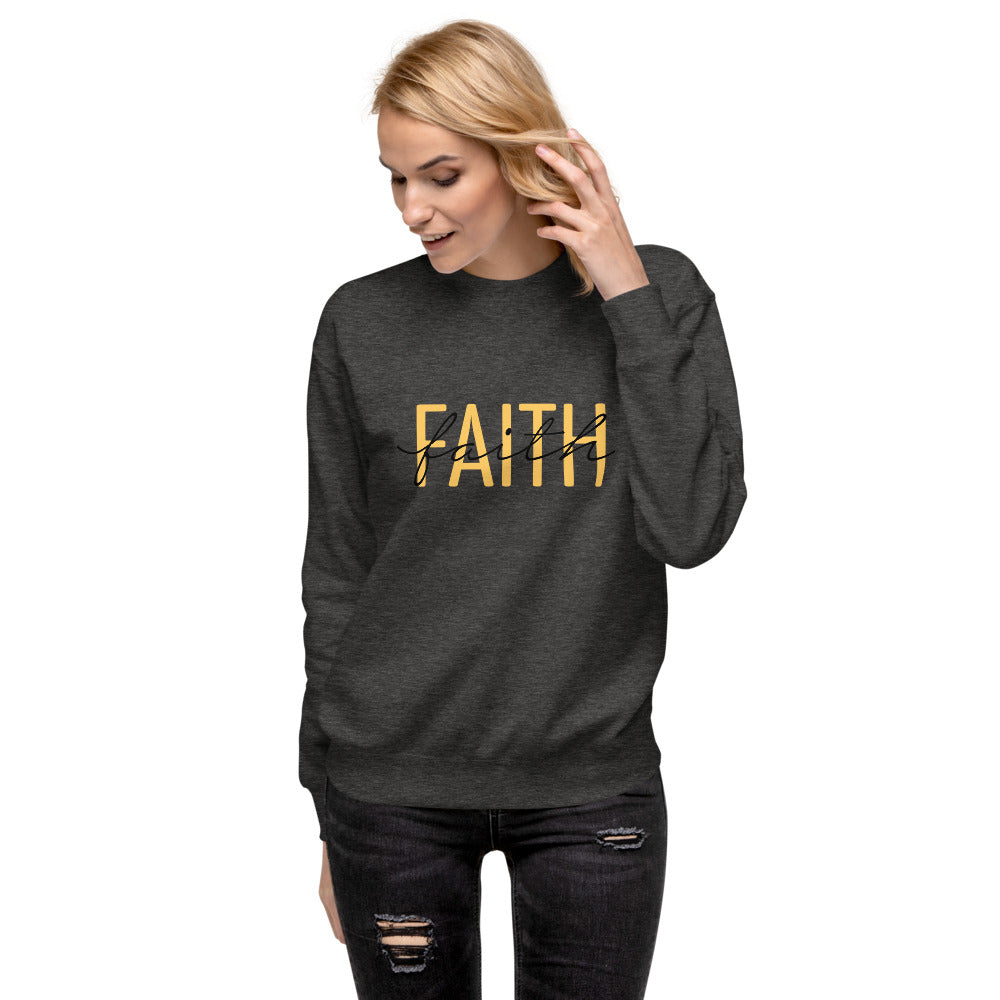 FAITH-FAITH Unisex Fleece Pullover
