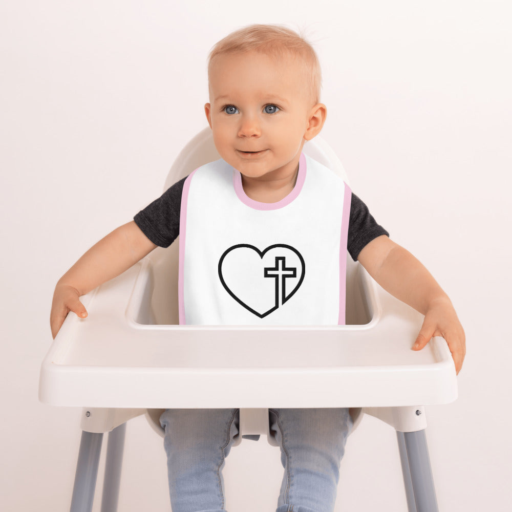 BABY BIB - Embroidered