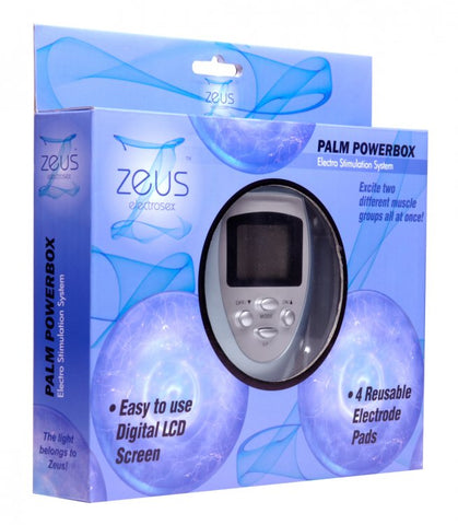 Zeus Electrosex 6 Mode Palm Powerbox With Pads