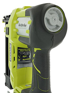 Ryobi 3 Piece 18V One+ Airstrike Brad Nailer Kit (Includes: 1 x P320 Brad Nailer, 1 x P102 2AH 18V Battery, 1 x P117 IntelliPort Dual Chemistry Battery Charger)