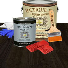 Load image into Gallery viewer, Liquid Wood Kit - Classic Black