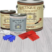 Load image into Gallery viewer, Liquid Wood Kit - White Wash
