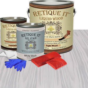 Liquid Wood Kit - White Wash