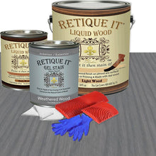 Load image into Gallery viewer, Liquid Wood Kit - Weathered Wood