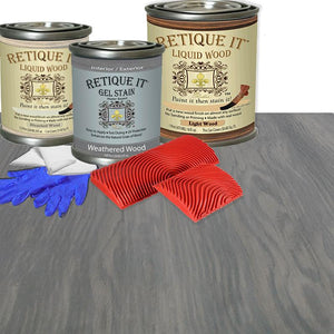 Liquid Wood Kit - Weathered Wood
