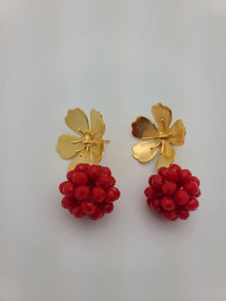 Beth Earrings (Red)