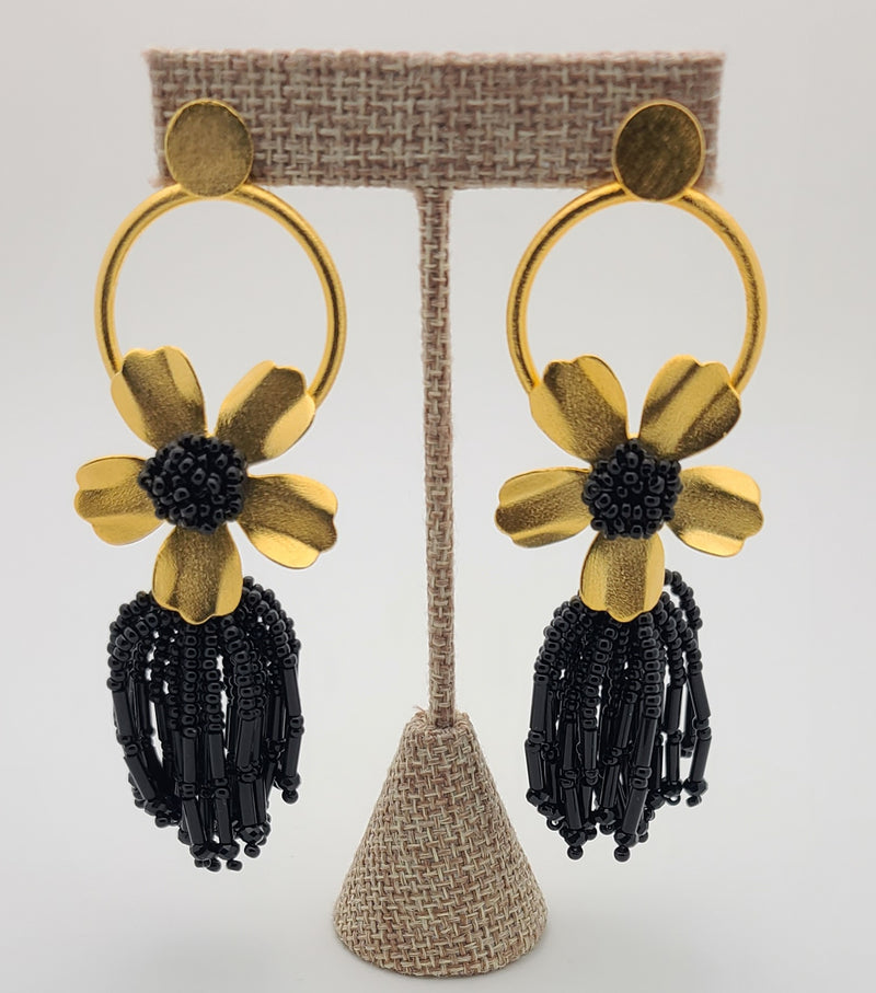 Chloe Earrings (Black)