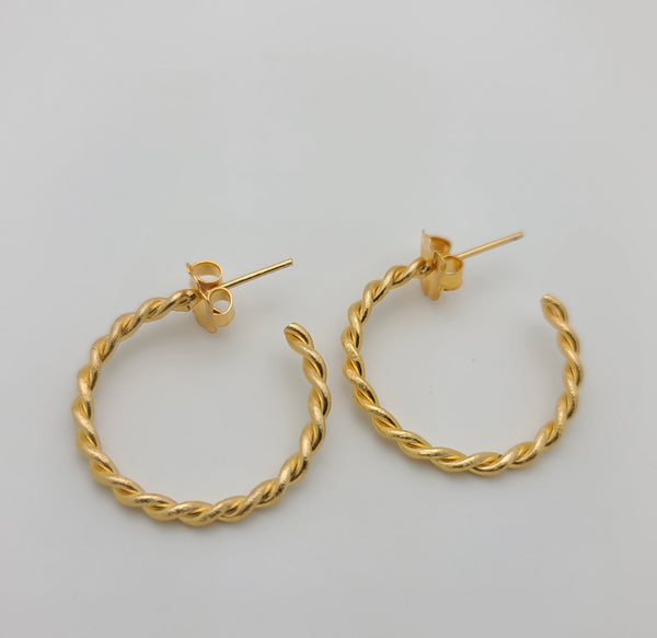 Rossi Hoops (Small/Gold)