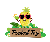 Tropical Tag - Tshirts for Men and Women