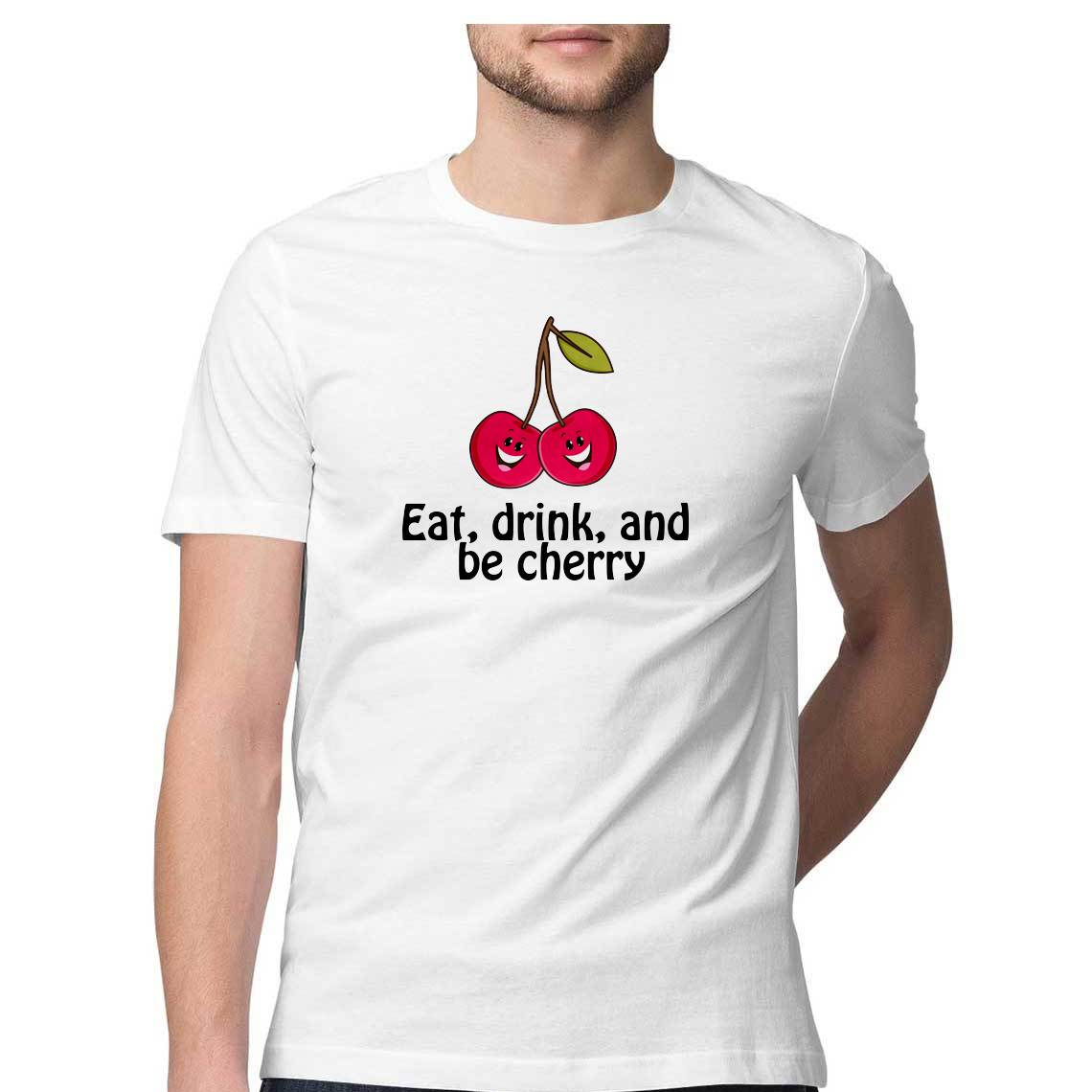 Eat, Drink & Be Cherry - Tropical Tag