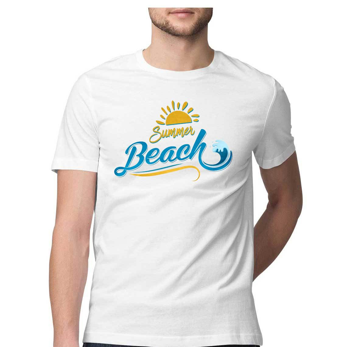 Summer Beach - Tropical Tag