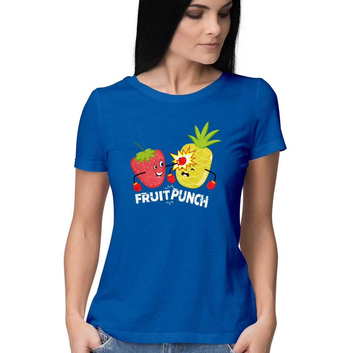 Fruit Punch | Women's Half Sleeve T-shirt