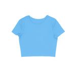 Load image into Gallery viewer, Women's Basics - Light Blue Crop Top
