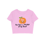 Load image into Gallery viewer, Peach Of My Heart - Women's Crop Top
