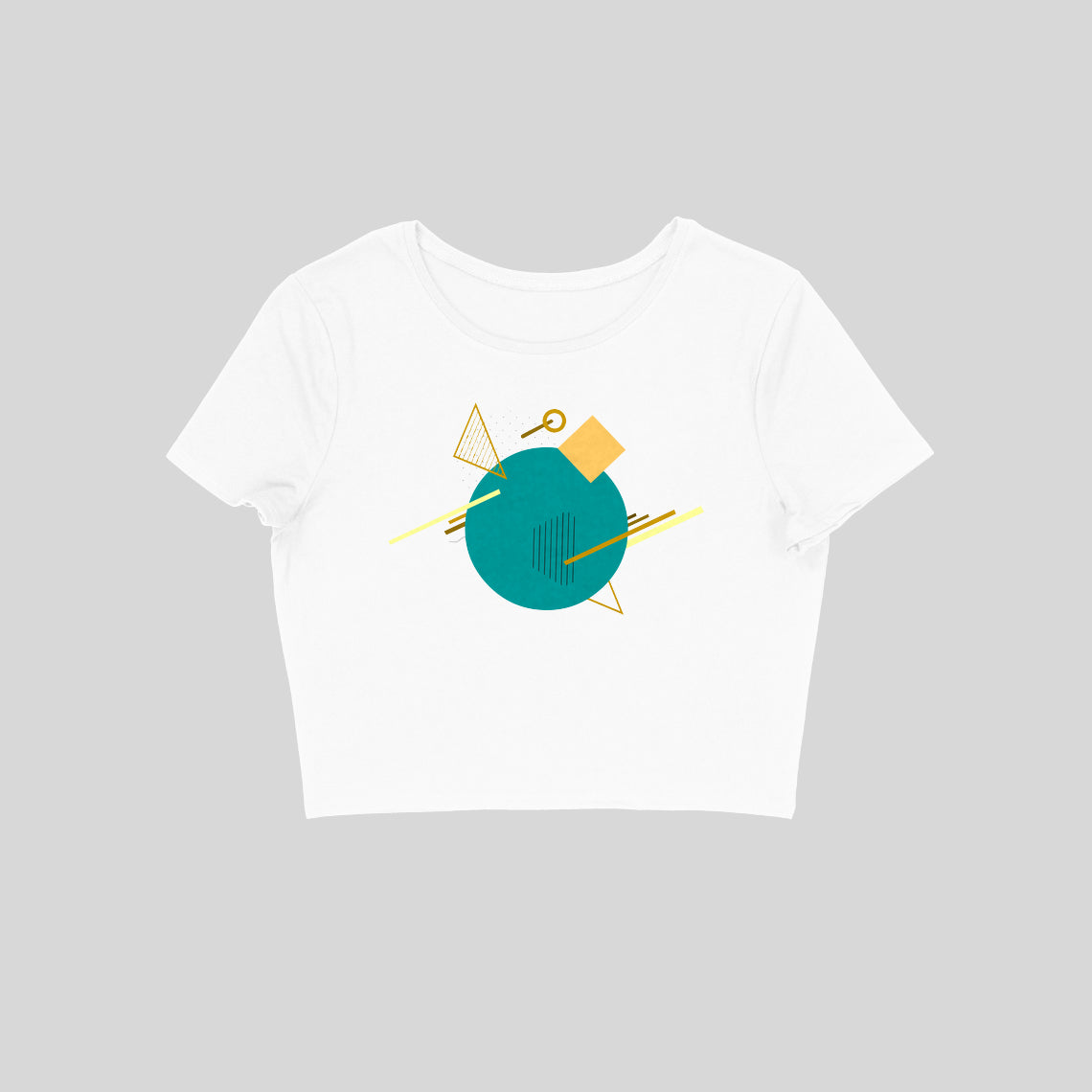 Aqua Island - Women's Crop Top