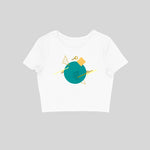 Load image into Gallery viewer, Aqua Island - Women's Crop Top
