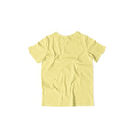 Load image into Gallery viewer, Kids's Basics - Butter Yellow Half Sleeves Round Neck T-shirt