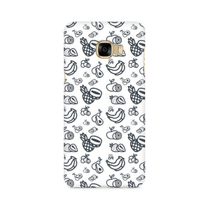 Phone Case - Mixed Fruit White