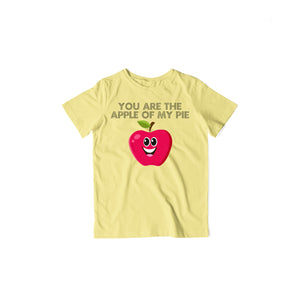 Apple Of My Pie - Kids Half Sleeve T-shirt