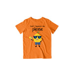 Load image into Gallery viewer, Don't Squeeze Me Please - Kids Half Sleeve T-shirt