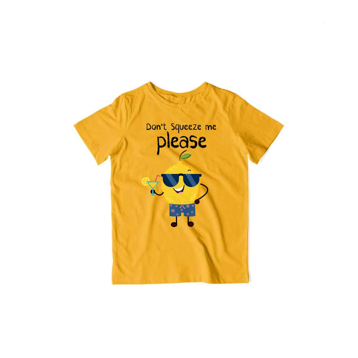 Don't Squeeze Me Please - Kids Half Sleeve T-shirt