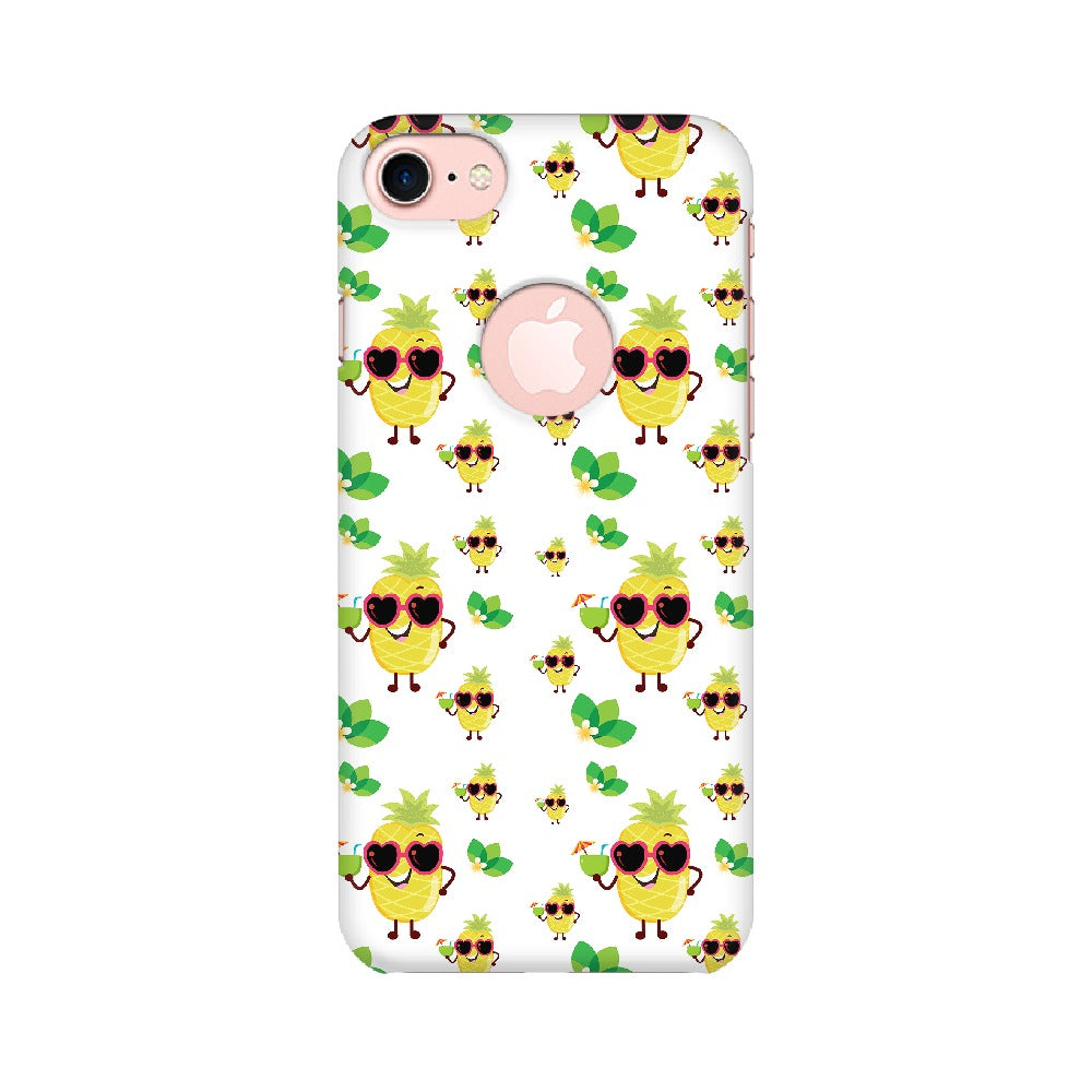 Phone Case for Apple iPhone - Just Chillin' White