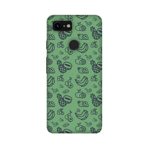 Phone Case for Google Pixel - Mixed Fruit Green