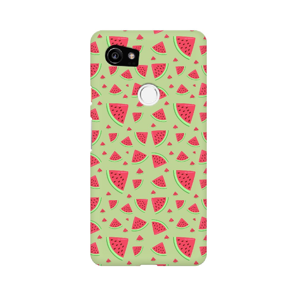 Phone Case for Google Pixel - Water Melon Green