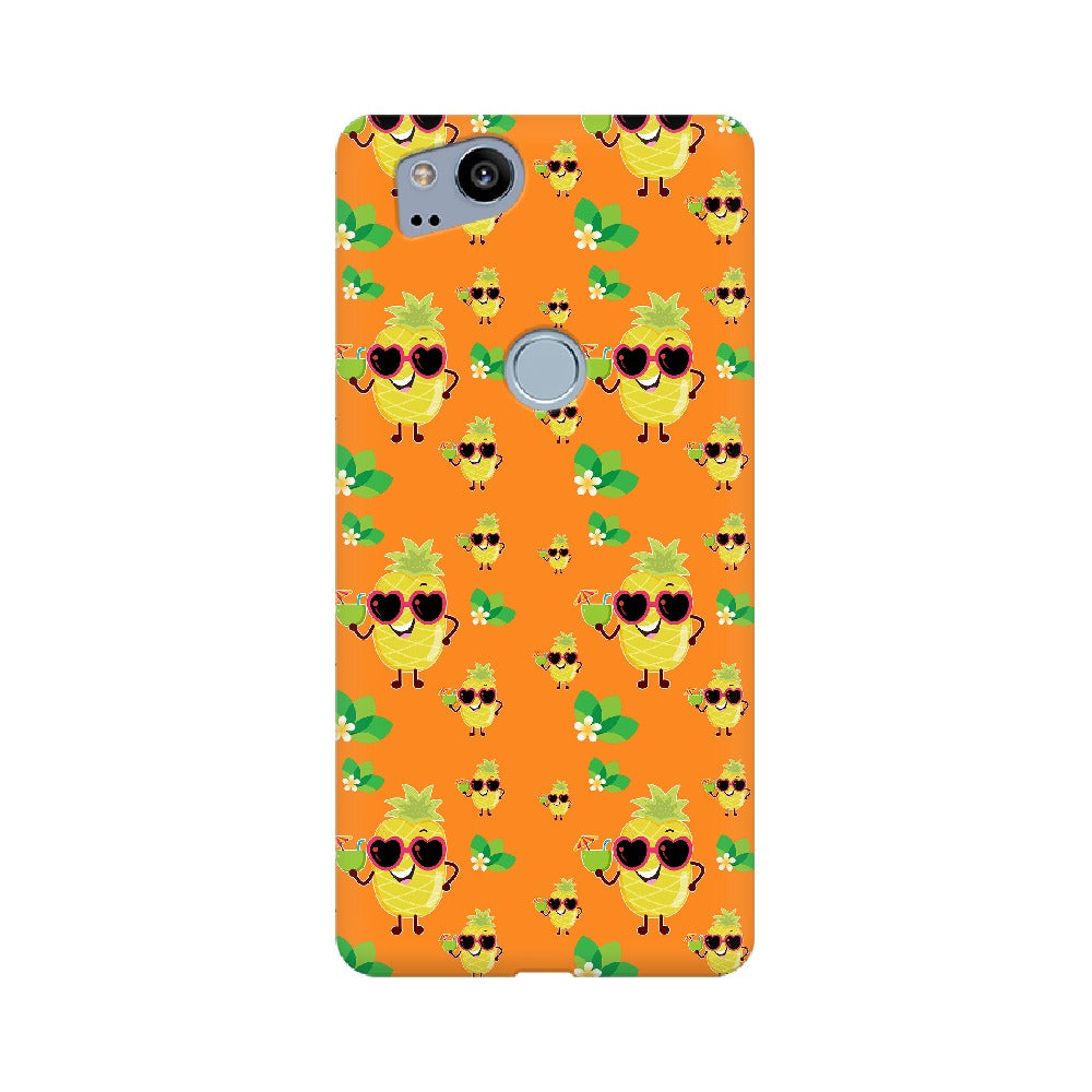 Phone Case for Google Pixel - Just Chillin' Orange