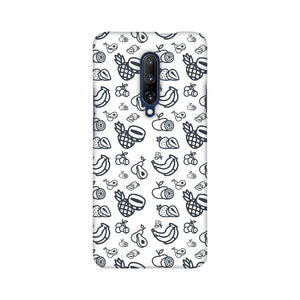 Phone Case for OnePlus - Mixed Fruit White