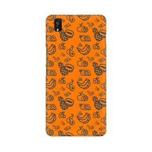 Phone Case for OnePlus - Mixed Fruit Orange