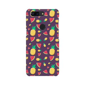 Phone Case for OnePlus - Pineapple & Water Melon Purple