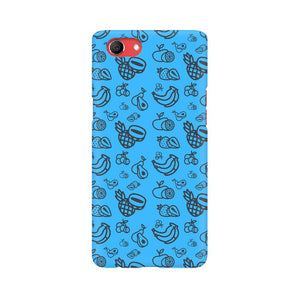 Phone Case for Oppo - Mixed Fruit Blue