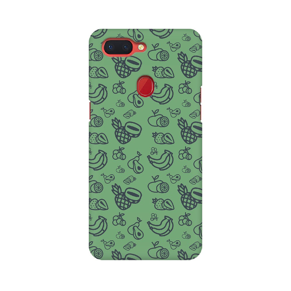 Phone Case for Oppo - Mixed Fruit Green