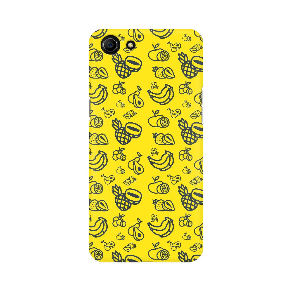 Phone Case for Oppo - Mixed Fruit Yellow