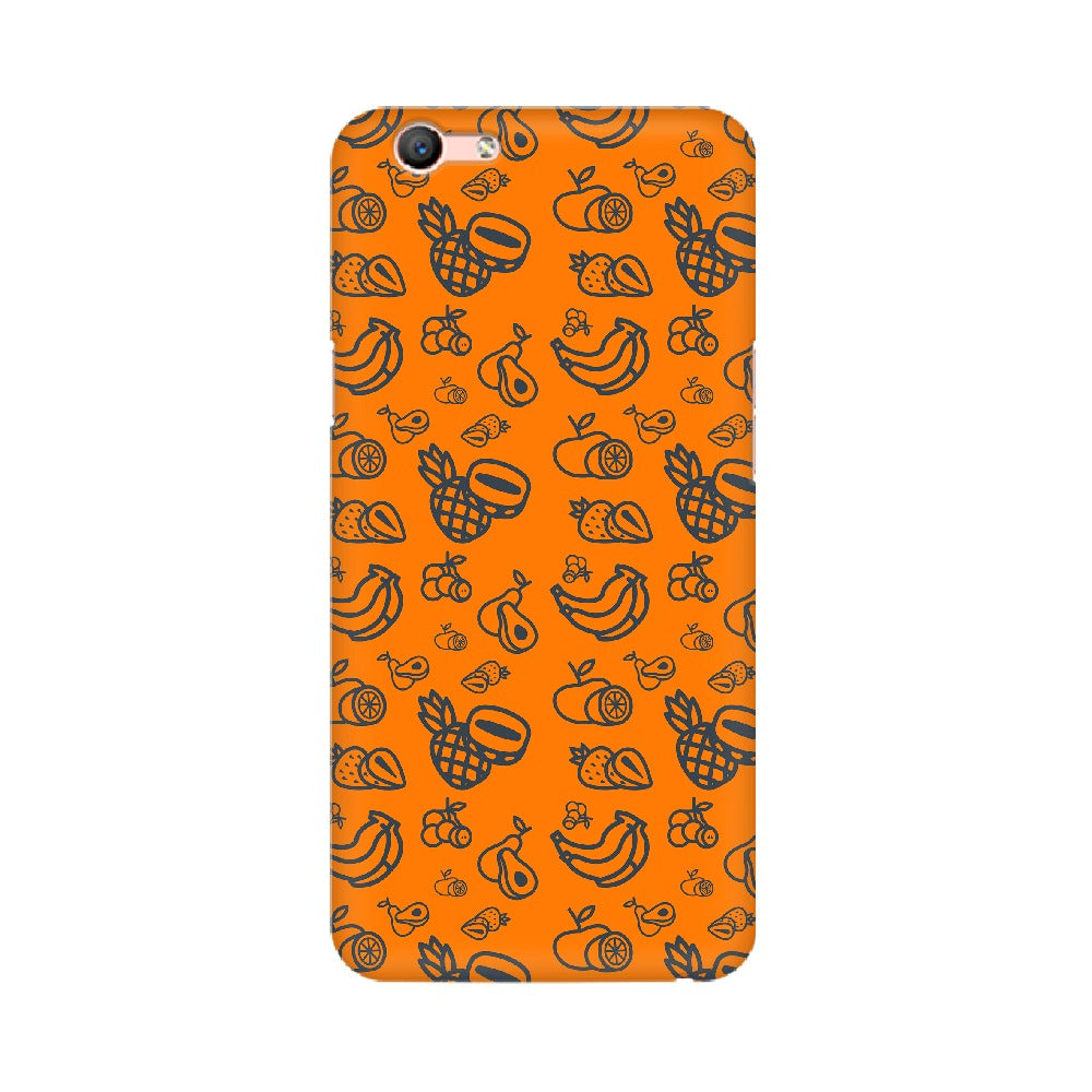 Phone Case for Oppo - Mixed Fruit Orange