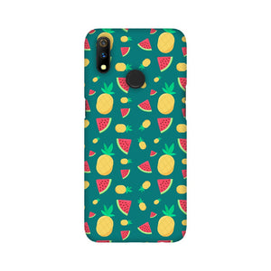 Phone Case for Oppo - Pineapple & Water Melon Green