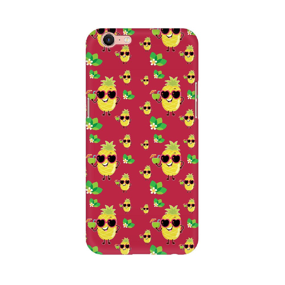 Phone Case for Oppo - Just Chillin' Maroon