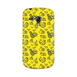 Phone Case for Samsung - Mixed Fruit Yellow