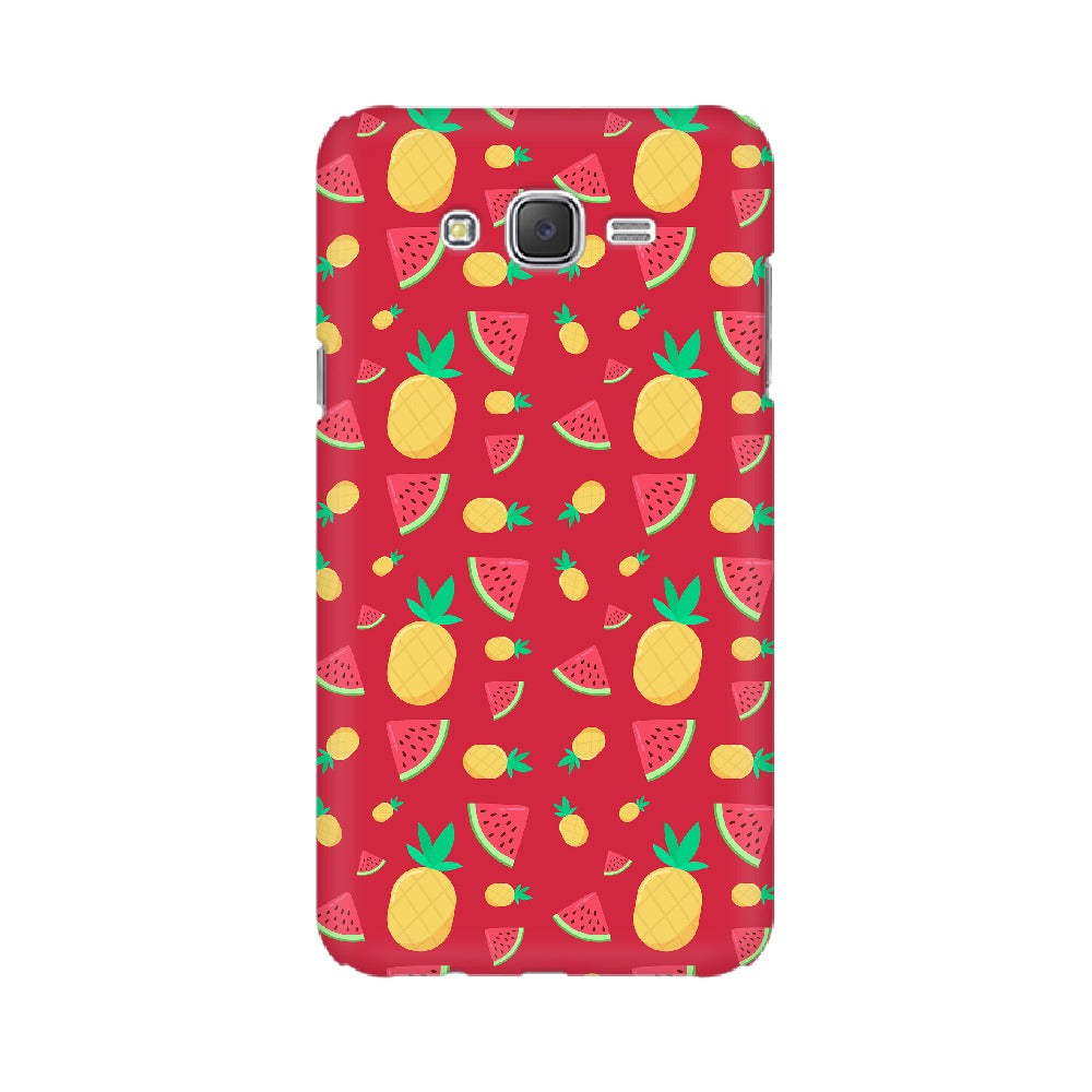 Phone Case for Samsung - Pineapple & Water Melon Red
