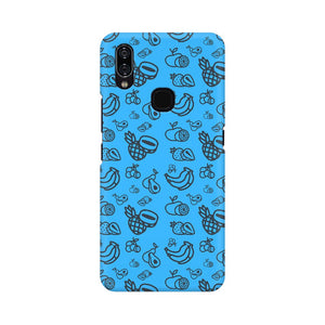 Phone Case for Vivo - Mixed Fruit Blue