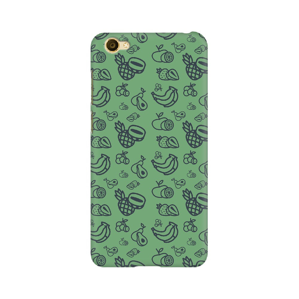 Phone Case for Vivo - Mixed Fruit Green