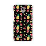 Load image into Gallery viewer, Phone Case for Vivo - Pineapple & Water Melon Black