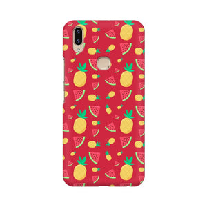 Phone Case for Vivo - Pineapple & Water Melon Red